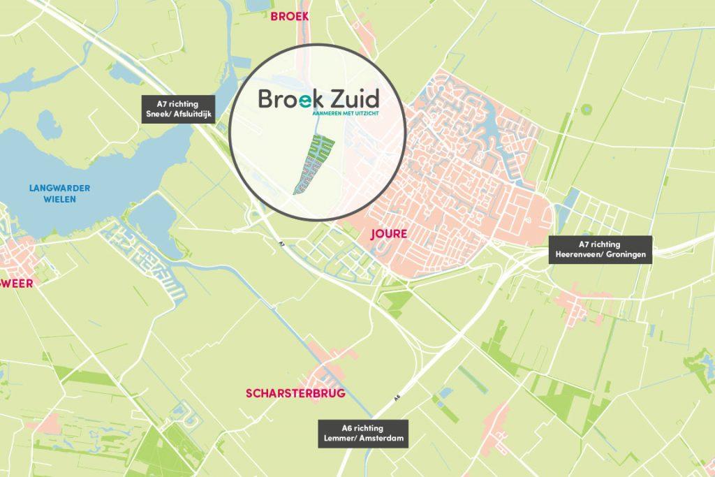 unieke omgeving Broek Zuid