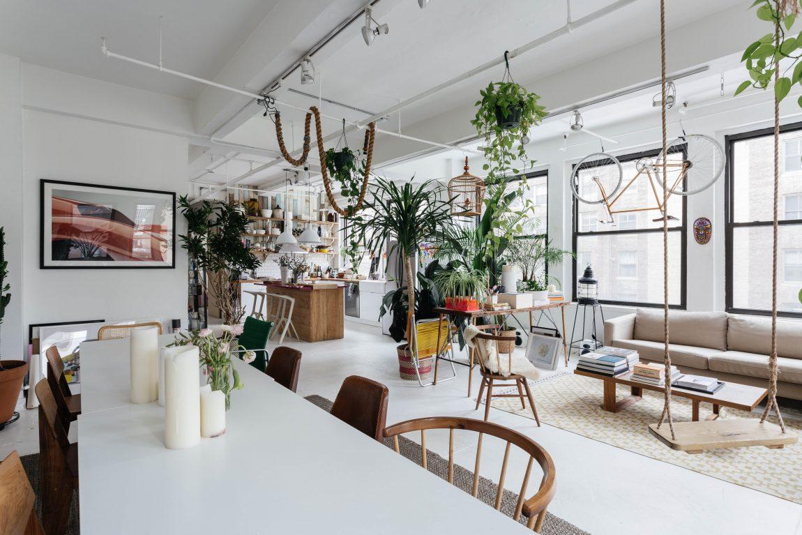 duurzame woning met planten